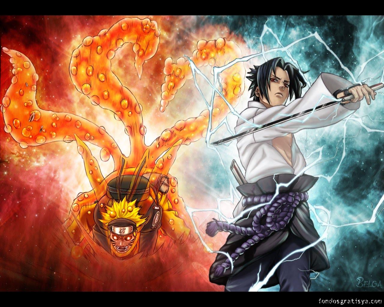 Storia di una forte individualit naruto e sasuke - Demon de sasuke ...