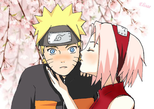 Galleria - NarutoGT.it Naruto Shippuden Naruto And Sakura Kiss