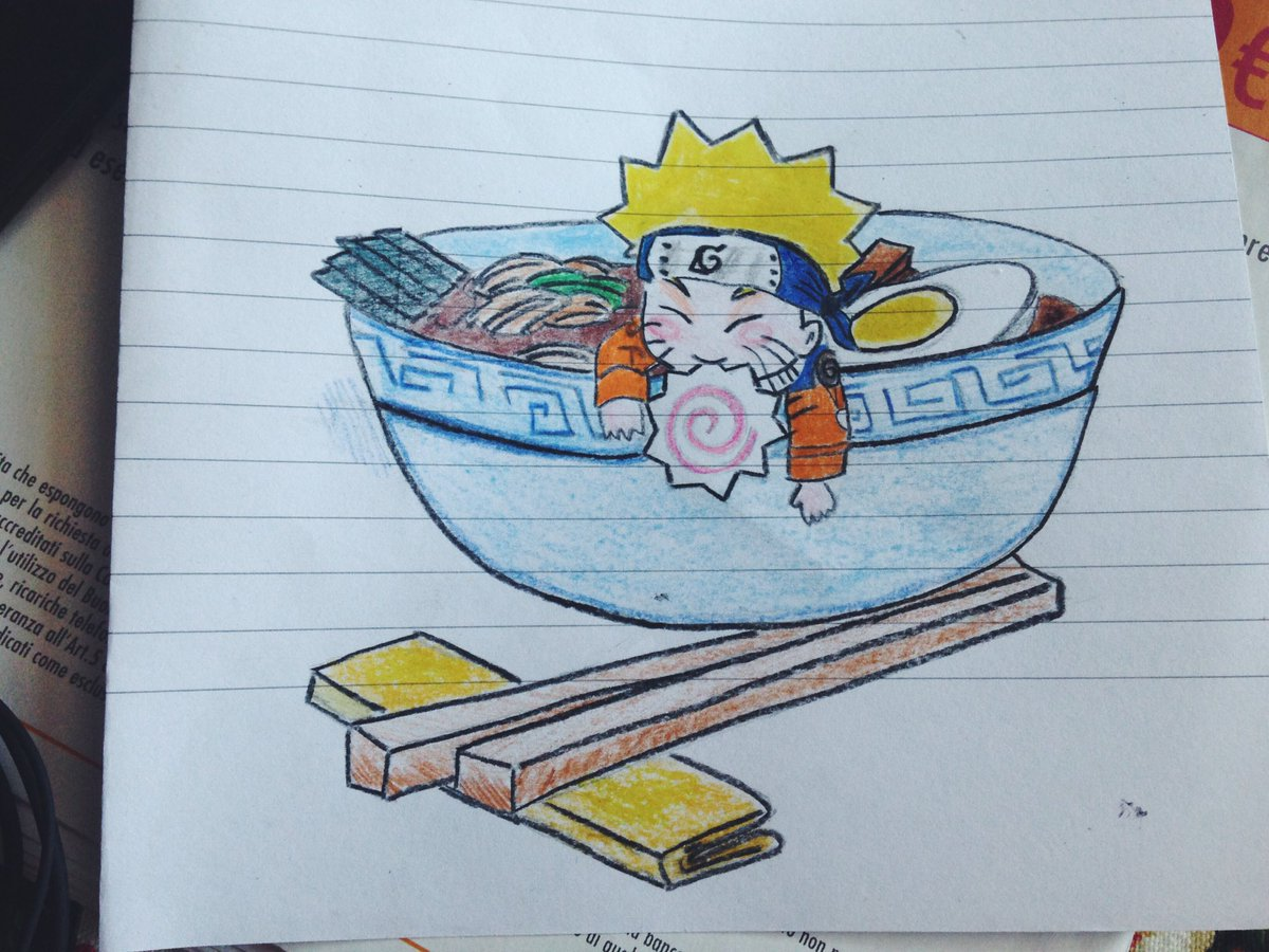 naruto eating ramen coloring pages - photo#17