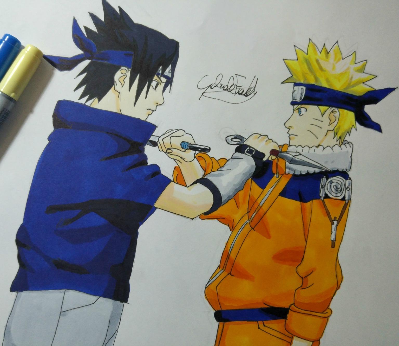 Naruto - NarutoGT.it Gaara And Naruto Chibi