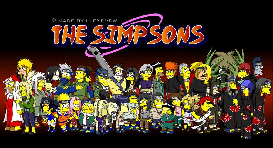 Naruto Simpson - Imagui